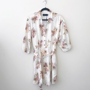 Minkpink Tropic Dreaming Shirt Dress